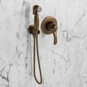 Hygienic shower Cezares + mixer Emmevi Harmony