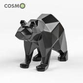 Polygon Bear Figurine