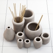 Clay dishes