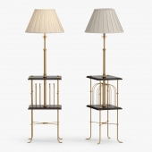 Besselink and Jones - Magazine rack standard lamp