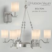 Chandelier Hudson Valley Bolton pendant & sconce