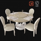 table and chair made in China