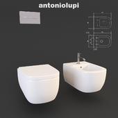 Toilet and bidet Komodo antonio lupi, Sink Segno and accessories sesamo Design Arkimera
