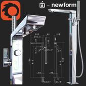 Outdoor bath mixer Newform Pura Libera