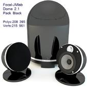 Focal-JMlab Dome 2.1 Pack Black 3D Max v 2014