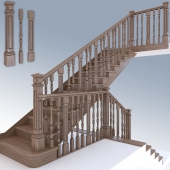 Stairs classical