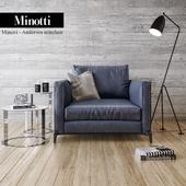 Minotti Andersen armchair