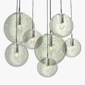 Raak - Clear bubble glass globes