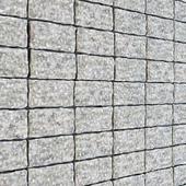 Gray brick panel