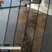TUREX INTERNATIONAL Marble Tiles Set of 32 (on perezalivke)