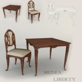 Table and chair Medea Liberty