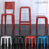 MR.B by Cappellini - Chair - high Stool - low Stool