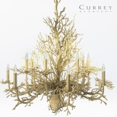 The Seaward Chandelier Lighting from Currey and Company