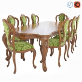 Classic dining table & chair Wenzhou Aolier