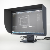 LaCie 324 LCD Monitor + Hood