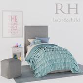 SYDNEY UPHOLSTERED BED, RH