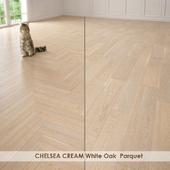 CHELSEA CREAM White Oak  Parquet