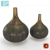 EG Vase Old copper