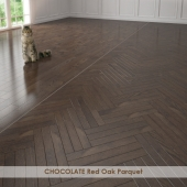 CHOCOLATE Red Oak Parquet
