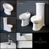 Villeroy & Boch (Amadea) floor WC and bidet