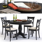 C&B Vintner Chair and Avalon Table