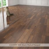 COUNTRY SIDE Black Walnut Parquet