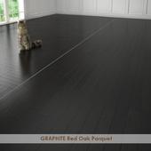 GRAPHITE Red Oak Parquet