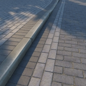 Тротуарная плитка и бордюр (поребрик) v2