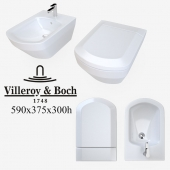 The toilet and bidet Villeroy&Boch Sentique