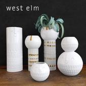 Atelier Stella Vases (white)