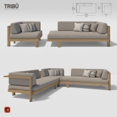 Tribu - Pure sofa corner