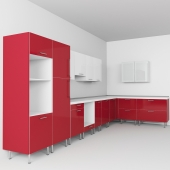 Kitchen Ikea. Set cabinets