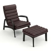 Кресло + стул Saville от Minotti