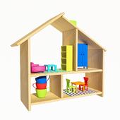 FLISAT Dollhouse