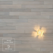 Vernal Antique White wooden floor by DuChateau