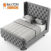 Baxton Studio Regina Wood Contemporary Bed, Queen