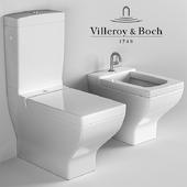 Squat toilet and bidet Villeroy & Boch La Belle