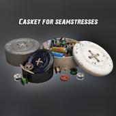Casket for seamstresses