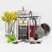 French Press Coffee &Tea Maker, Kitchen supreme