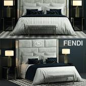 Bed fendi montgomery bed
