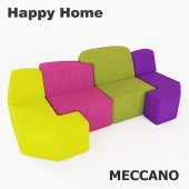 Children's sofa HappyHome MECCANO