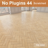 Herringbone parquet scratched 44 (without the use of plug-ins)