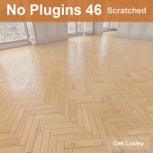 Herringbone parquet scratched 46 (without the use of plug-ins)