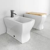 Squat toilet and bidet Giusti Portos