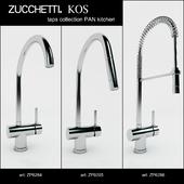 Zucchetti. KOS kitchen taps collection PAN