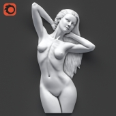 Contemporary Venus Wall Sculpture