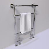Radiator bath. Towel