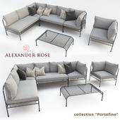 """A set of outdoor furniture """"Alexander Rose"""" - Portofino"""