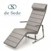 Chaise lounge chair DS-2660 (relief) from the de Sede