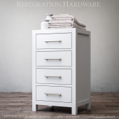 HUTTON FOUR-DRAWER BASE